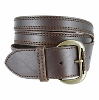Womens Crossing Straps Belt - Brown