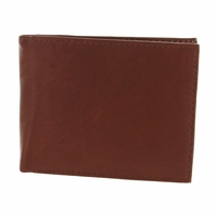 Y-27 Soft Genuine Leather Quality Bifold Wallet - Burgundy