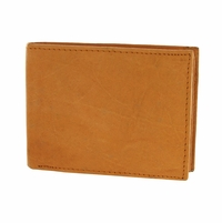 Y-27 Soft Genuine Leather Quality Bifold Wallet - Tan