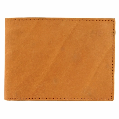 Y-39-Z Soft Genuine Leather Bifold Wallet - Tan