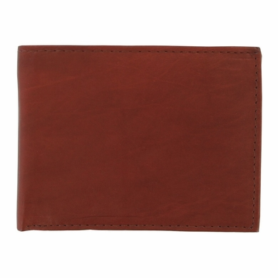 Y-39-Z Soft Genuine Leather Bifold Wallet - Burgundy