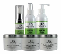 Oily-Acne Skin Care Set - 6 Piece Set with Free Gift Item