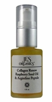 Age Defying Organic Collagen Renew Oil with Red Raspberry Seed Oil & Argireline Peptide - Natural SPF