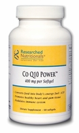 Co Q10 Power Researched Nutritionals (400 mg)