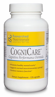CogniCare™ Researched Nutritionals - Mental Accuity & Focus