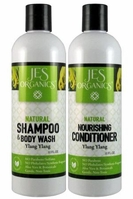 Gentle Aloe Jojoba Shampoo/Body Wash & Nourishing Conditioner - Ylang Ylang