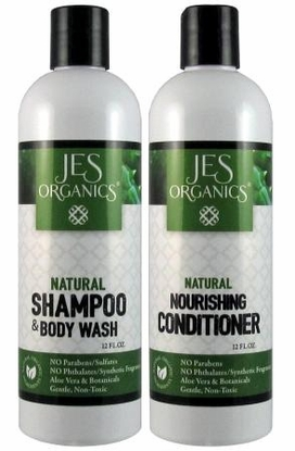 Gentle Aloe Shampoo/Body Wash & Nourishing Conditioner - Unscented or Choice of Essential Oils