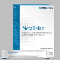 Metagenics MetaRelax� Designed to help promote restful sleep, positive mood, and relaxation*