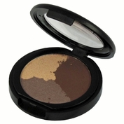 Natural Mineral Pressed Trio Eyeshadow-Earthen Wonder (Warm-Neutral)