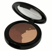 Natural Mineral Pressed Trio Eyeshadow-Mocha (Warm-Neutral)