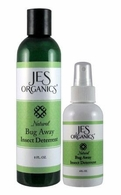 Natural Organic Bug Away Insect Deterrent  with Refill Bottle