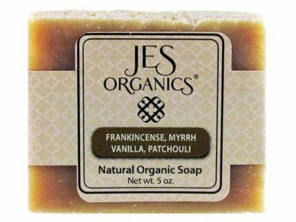 Natural Organic Handcrafted Frankincense, Myrrh, Vanilla, & Patchouli Soap Bar