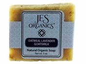 Natural Organic Handcrafted Oatmeal Lavender Goats Milk Soap Bar