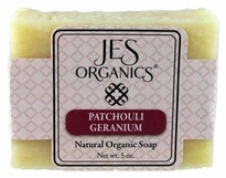 Natural Organic Handcrafted Patchouli Geranium Soap with Hemp Seed Oil