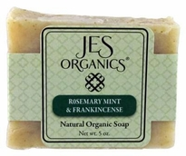 Natural Organic Handcrafted Rosemary Mint & Frankincense Soap