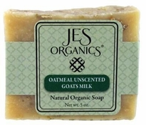 Natural Organic Handcrafted Unscented Oatmeal Goat Milk Soap