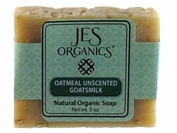 Natural Organic Handcrafted Unscented Oatmeal Goats Milk Soap Bar