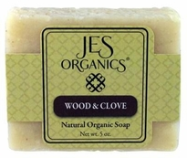Natural Organic Handcrafted Wood & Clove Soap