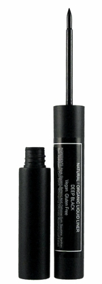 Natural Organic Liquid Eye Liner-Black