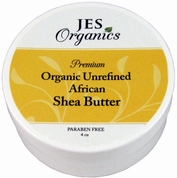 Natural USDA Organic Raw Unrefined Premium Grade African Shea Butter Unscented or Choice of Essential Oils