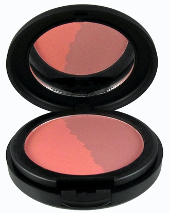 Natural Pressed Mineral Blush - Cool Wave Duo