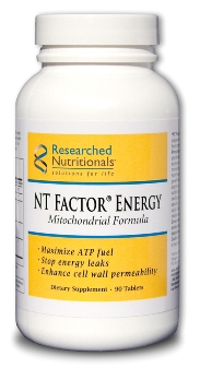 NT Factor Energy-promote healthy mitochondrial membranes Researched Nutritionals