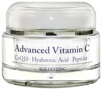 Advanced Vitamin C Wrinkle Cream with Squalane, Glycolic & Hyaluronic Acid