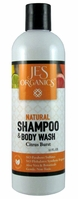 Gentle Aloe Jojoba Hair & Body Wash with Chamomile & Rosehip - Citrus Burst