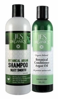 Silky Shine Argan Shampoo & Botanical Argan Conditioner - Choice of Essential Oils