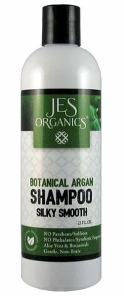 Botanical Argan Silky Smooth Shampoo with Argan Oil - Choice of Unscented or Essential Oils