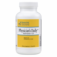 Physician's Daily Multivitamin + D3 Researched Nutritionals