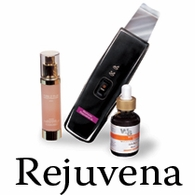 Rejuvena Ultrasonic - reactivates the aged skin cells
