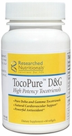 TocoPure D&G Cardiovascular, Immune & NF-kB Support Researched Nutritionals