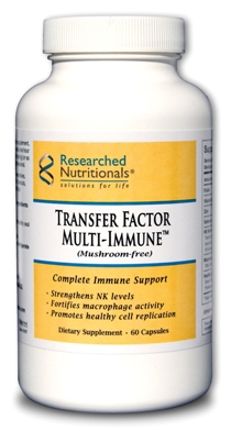 Transfer Factor Multi-Immune (mushroom-free) Researched Nutritionals