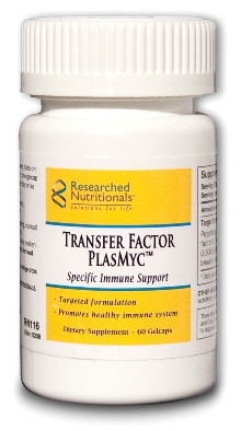Transfer Factor PlasMyc Researched Nutritionals