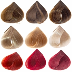 Color Chart For European Human Hair Extensions