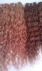 Natural Curly European Remi Human Hair Extensions 18""