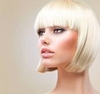 Platinum Blonde Human Hair Wig