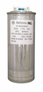1000 Watt High Pressure Sodium 26UF 525V (Round)