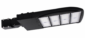240 Watt Slim ShoeBox LED Fixture 100-277 Driver