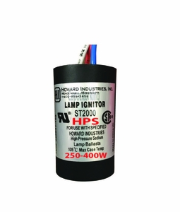 Ignitor for 250-400 Watt HPS Howard ST2000