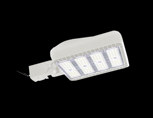 300 Watt ShoeBox LED Fixture 100-277 Driver/ White