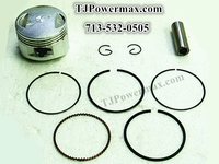 110cc Piston,Rings,Pin G-ring for ATV,Pocket Bike, Mini Choppers