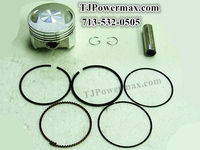 250cc Piston,Rings,Pin G-ring for ATV,GO-CART
