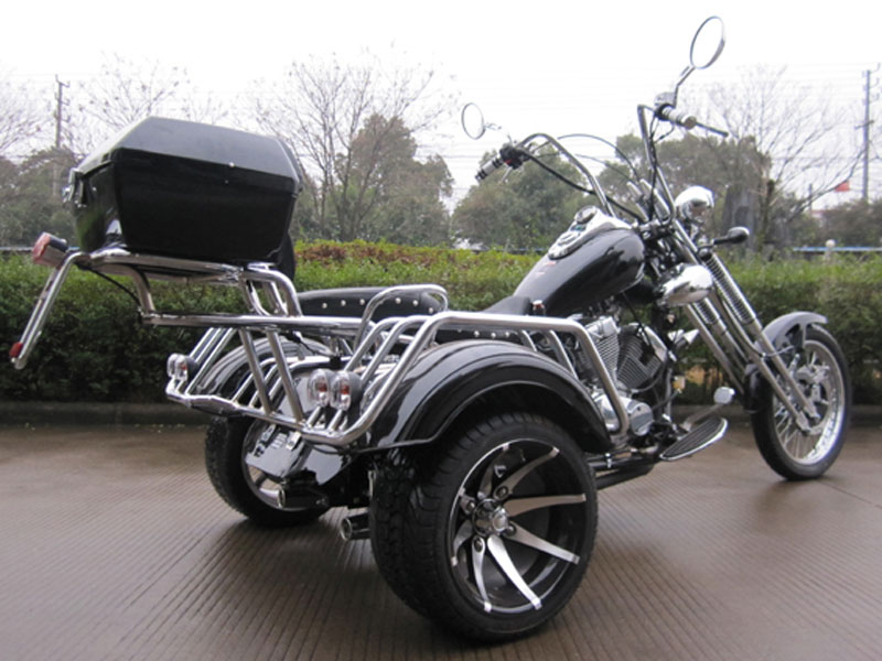 250cc Trike Chopper Style 3 Wheels Road Warrior