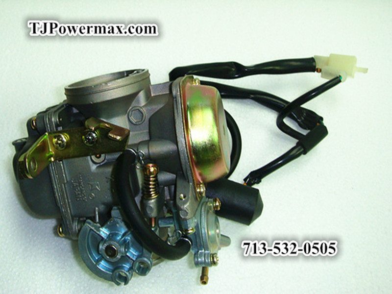 30mm Carburetor for GY6 250cc & CF250cc Water-cooled Engine