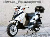 CY50-A (VIP)  4-Stroke 50cc Street Legal Gas moped scooter