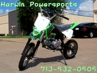 Dirt Bike 125 with Clutch