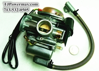 GY6 125cc-150cc 24mm Carburetor with Electrical Choke