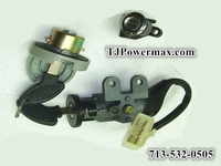 Key Switch for 50cc Moped, 5-Wire